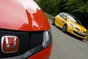 Essai Honda Civic Type R et Renault Clio F1 Team R27 : Deux atmos sous pression