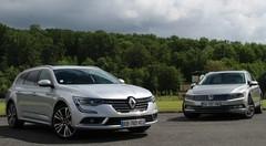 Essai Renault Talisman Estate vs Volkswagen Passat SW : une place en finale