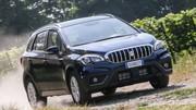 Suzuki S-Cross 2017 : les photos du S-Cross restylé en fuite
