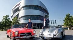 Porsche et Mercedes s'associent et lancent une offre pour leurs musées