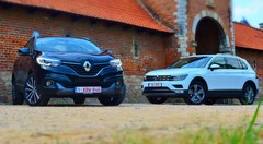 Essai Renault Kadjar dCi 4WD vs VW Tiguan TDI 4Motion : David contre Goliath