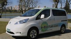 Nissan e-NV200 à pile a combustible au bioethanol : jusqu'à 600 km d'autonomie