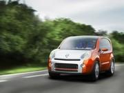 Renault Kangoo Compact Concept : jeune, dynamique et... pour adeptes du roller !