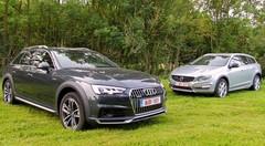 Essai Audi A4 Allroad vs Volvo V60 CrossCountry : Au-dessus de la mêlée