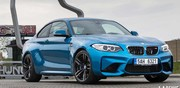 Essai BMW M2 sur le tourniquet du HungaroRing