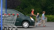 Accrochage sur un parking de supermarché, quelle responsabilité ?