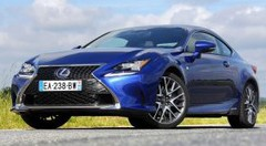 Essai Lexus RC 300h F-Sport Executive, unique en son genre
