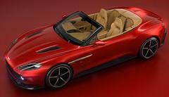 Pebble Beach 2016 : Aston Martin Vanquish Zagato Volante