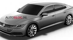 La Volkswagen CC 2017 en fuite sur le net