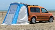 Essai Volkswagen Caddy Beach : Campez où vous voulez !