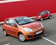 Comparatif Renault Twingo II ey Smart Fortwo II : Le grand fossé