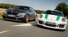 Essai Porsche 911 R vs BMW M4 GTS : Symphonies en six majeur