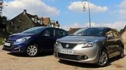 Essai Peugeot 208 BlueHdi vs Suzuki Baleno Hybrid SHVS : 4,2 litres aux 100 km