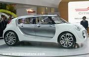 Citroën C-Cactus hybride HDI : un concept qui associe simplicité et innovation