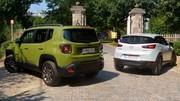 Essai Jeep Renegade vs Mazda CX-3 : Maxi burger contre sushi