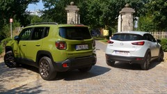 Essai Jeep Renegade vs Mazda CX-3 : Maxi burger contre sushi