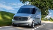 Mercedes Vision Van Concept 2016 : drone de camionnette !