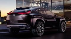 Toujours agressif, le petit SUV Lexus UX