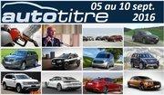 Les titres de l'actualité auto du 05 au 10 septembre 2016