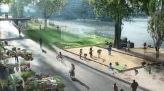Berges pour piétons à Paris : la grogne de la banlieue