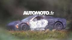 La future Chevrolet Corvette C8 en photos scoop