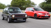 Essai Volkswagen Golf 1 GTI vs Golf 7 GTI Clubsport : c'était mieux avant ?