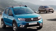 Dacia Sandero, Logan, Logan MCV restylées 2017