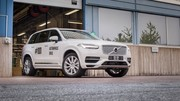 Le premier XC90 autonome du programme Drive Me sort du laboratoire Volvo en Suède