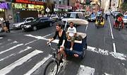 Mobilité urbaine : le Pédicab de Big Apple