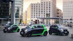 Légère hausse d'autonomie pour les nouvelles Smart Electric Drive