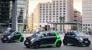 Les nouvelles Smart Fortwo et Forfour électriques débarquent