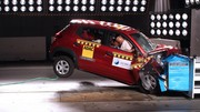 La Renault Kwid obtient finalement… 1 étoile au crash-test Global NCAP