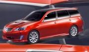 Subaru Exiga Concept : Faute d'avenir
