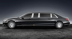 Mercedes-Maybach S 600 Pullman Guard : limousine blindée