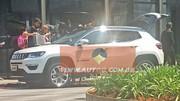 Le futur Jeep Compass de sortie totalement nu