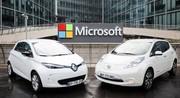 Alliance entre Renault-Nissan et Microsoft