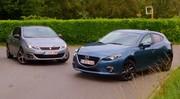 Essai Mazda 3 1.5d vs Peugeot 308 1.6 HDi : Chameaux de course !
