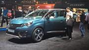 La nouvelle Peugeot 5008 fait ses premiers pas