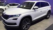 Le grand SUV Skoda Kodiaq montre ses muscles