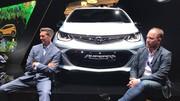 Opel présente l'Ampera-e, 100 % électrique, à l'autonomie record