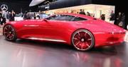 Mercedes-Maybach Vision 6 : quand l'électrique se fait opulent