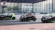 Smart Fortwo et Forfour Electric Drive