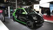 Smart Forfour Electric Drive : quatre portes et un moteur de Zoe