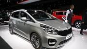 Kia Carens : un restylage pour le Mondial de l'automobile 2016