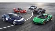 Ferrari dévoile 5 modèles anniversaire à Paris
