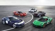 Ferrari dévoile des livrées uniques pour ses 70 ans