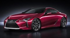 Plus qu'avec le UX, Lexus fait encore fureur avec la LC500