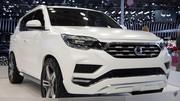 Ssangyong LIV-2 Concept : plus blanc que blanc