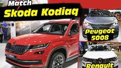 Skoda Kodiaq face aux nouveaux 5008 et Koleos