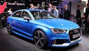 Audi RS3 Berline : la quatre portes enfin à cinq pattes